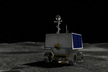 Lune La NASA a choisi un site pour son véhicule chercheur de glace)