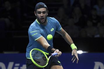 Finales de l'ATP: Matteo Berrettini bat Dominic Thiem