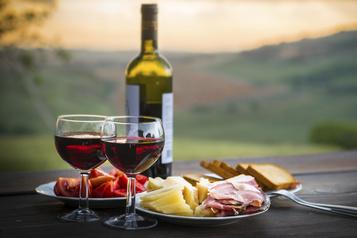 Baisse attendue de 20 à 25% des ventes de vins italiens)