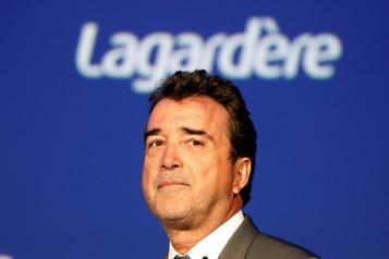 La société de portefeuille de Lagardère dans le rouge en 2019)