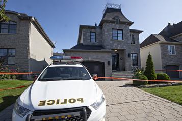 Perquisitions à Laval visant à résoudre un meurtre