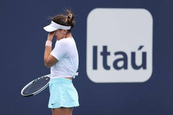Tournoi de Miami BiancaAndreescu forcée à l'abandon en finale)