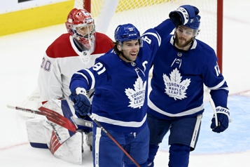 Notre couverture en direct Canadien 2 – Maple Leafs 5)