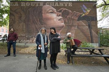 Plateau-Mont-Royal Une œuvre murale en hommage à Lhasa enfin inaugurée)