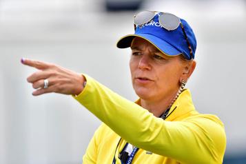 Golf Annika Sörenstam ne regrette pas d'avoir été décorée par Trump)