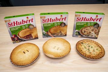 Produits d'épicerie Virage végétarien chezSt-Hubert)