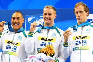 L'Australie pourrait perdre une médaille des JO de Londres en 2012)