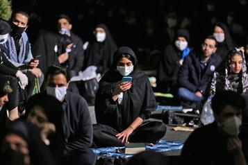 Iran: plus forte hausse de nouveaux cas de COVID-19 en un mois )