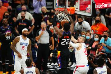 Séries de la NBA Les Suns l'emportent à la dernière seconde contre les Clippers)