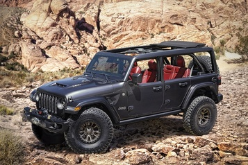 Jeep produira une version V8 de son Wrangler)