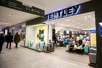 Le détaillant de valises Bentley fermera 88magasins