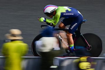 Cyclisme Primoz Roglic champion olympique en contre-la-montre)