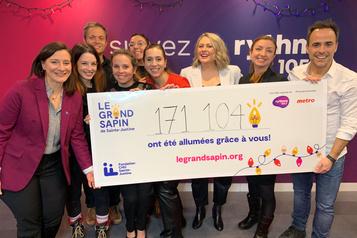 855 000$ pour Sainte-Justine