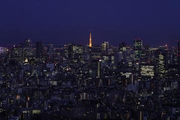 Carte postale de Tokyo Les mauvais garçons de la nuit)