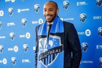 Thierry Henry prêt pour une «grande aventure» à Montréal