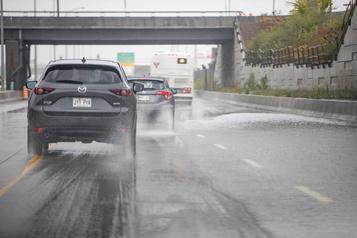 Autoroute 20 inondée: les voies rouvertes à la circulation