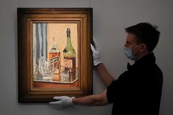 Une toile de Winston Churchill montrant son whisky préféré vendue 1,7million)