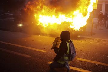 Loi sur la sécurité globale Mobilisation dans toute la France, vandalisme à Paris)