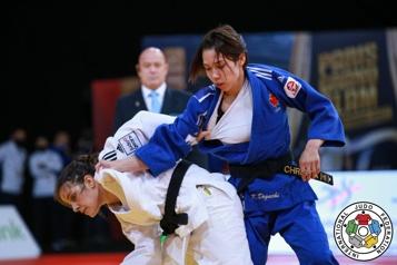 Judo Kelly Deguchi termine septième à son premier Grand Chelem
