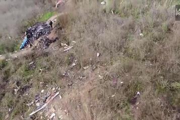 Les images du site de l'écrasement rendues publiques