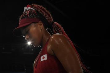 Tennis Naomi Osaka se fait montrer la porte de sortie)
