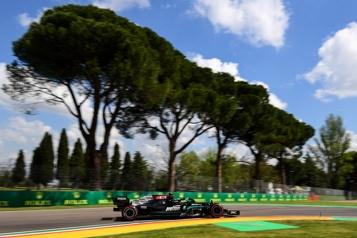 Grand Prix d'Émilie-Romagne  Valtteri Bottas domine les premiers essais libres )