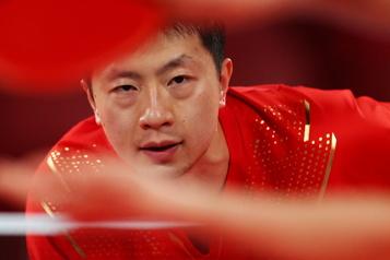 Tennis de table Carton plein pour la Chine avec quatre finalistes)