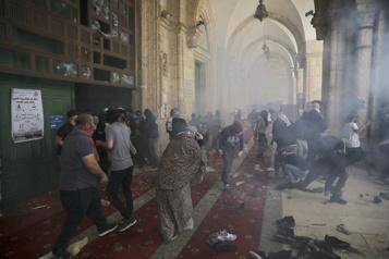 Affrontements à Jérusalem Erdogan accuse Israël de «terrorisme» )