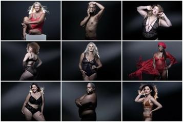 Les mannequins atypiques, porte-flambeaux de tous les types de corps)