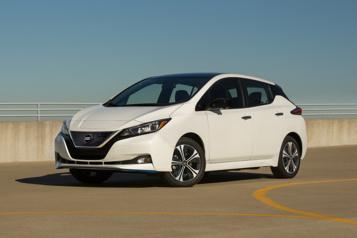 La Nissan Leaf voitsesprix nettement diminuer)