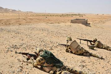 Sinaï: l'armée égyptienne annonce avoir tué 19 djihadistes présumés)