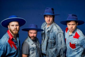 Bleu Jeans Bleu pour le Nouvel An