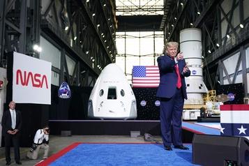 Polémique sur une publicité politique de Trump utilisant la NASA)