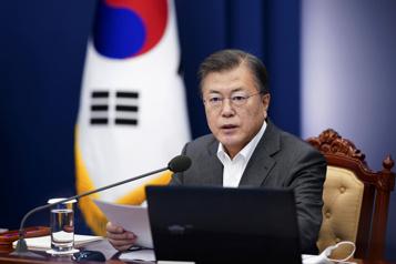 Le président sud-coréen appelle Biden à négocier avec Pyongyang)