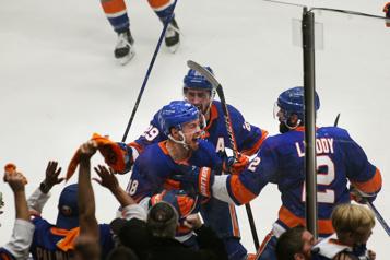 Demi-finale des séries de la LNH Beauvillier sauve les Islanders)