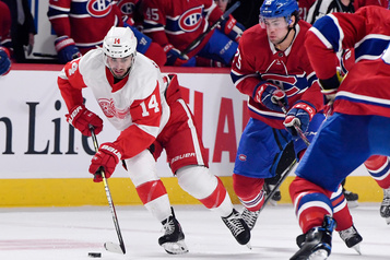 Les Red Wings battent le Canadien 2-1