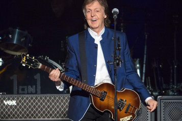 Paul McCartney au festival Glastonbury