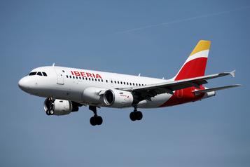 Iberia reprendra en juilletune partie de ses vols)