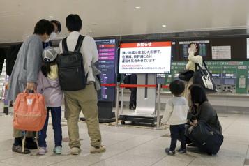 Un séisme de magnitude6,8 frappe le Japon)