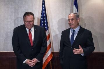 Nétanyahou demande à Pompeo d'augmenter la pression sur l'Iran