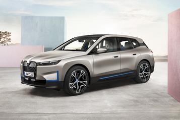BMW part à la chasse au Tesla Model X)