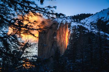Le « Firefall » de retour à Yosemite