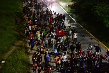 Guatemala: le président ordonne l'arrestation des milliers de migrants )
