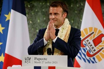 Essais nucléaires Macron reconnaît la «dette» de la France envers la Polynésie)