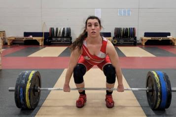 Haltérophilie Tali Darsigny en attente pour sa qualification olympique)