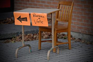Élections: sur la ligne de départ