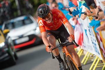 Cyclisme sur route Une performance gratifiante de Pier-André Côté pour conclure la saison