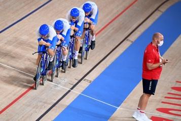 Cyclisme sur piste Les Italiens champions olympiques de poursuite par équipe)