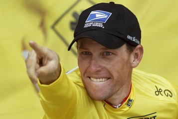 Cyclisme: Lance Armstrong a commencé à se doper «probablement à 21ans»)