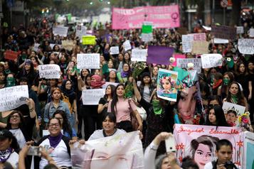Manifestations à Mexico après un féminicide particulièrement brutal